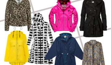 go stylish with these trendy raincoats - India TV