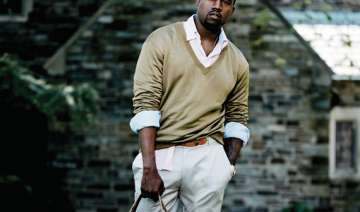 kanye west to unveil menswear line - India TV