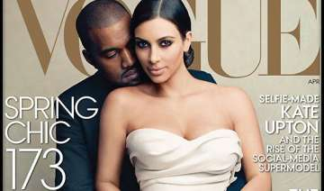 kim kanye become face of vogue s april edition...