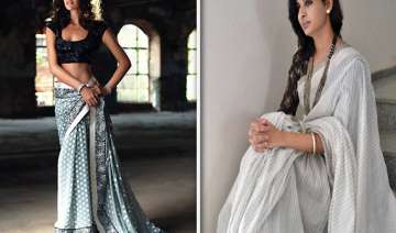 make a statement with hand woven saris - India TV