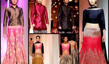manish malhotra displays ethnic indian wear at...