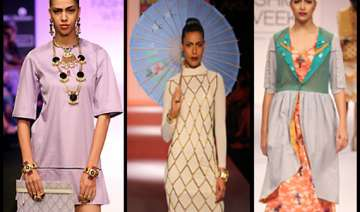 mona darling inspired collection showcased at lfw...