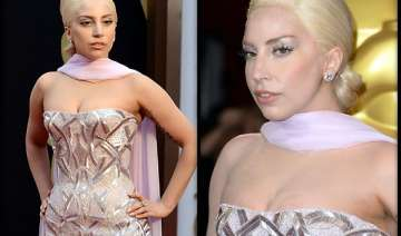 oscars 2014 lady gaga sports indian style at red...