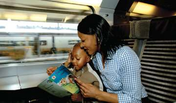 parents prefer train travel to understand kids...