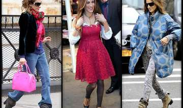 sarah jessica parker gets style inspiration from...