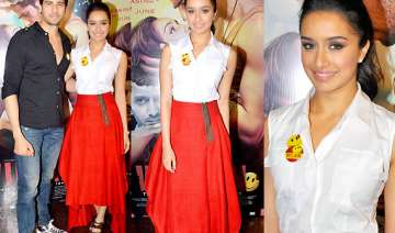 shraddha kapoor flaunts payal khandwala creation...