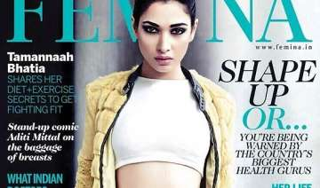 fighting fit tamanna bhatia sizzles as femina...