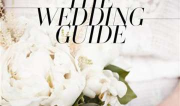 vogue offers its stylish wedding guide - India TV