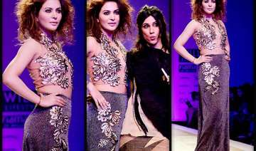wifw aw 2014 ankita shorey turns showstopper for...
