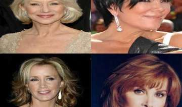 women choose hairstyle for aged after turning 46...