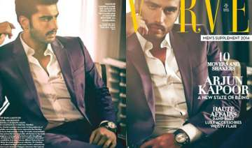 arjun kapoor raises heat covers verve magazine...
