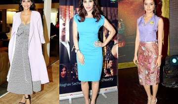 shraddha sonam sophie best dressed divas of the...