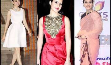 katrina kajol kangana at their fashion best says...