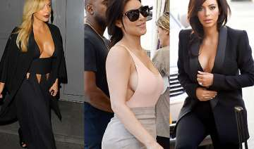 kim kardashian s top braless moments see pics -...