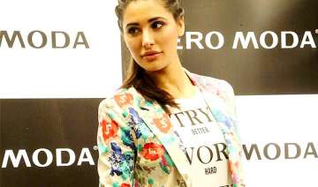 nargis fakhri makes stylish appearance in capital...