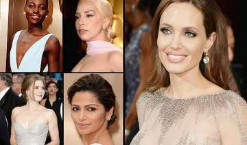 oscars 2014 divas dazzled in gold this year see...