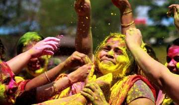 mix caution with your holi colours doctors to...