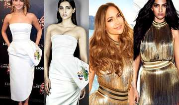 see how sonam kapoor copies hollywood divas see...