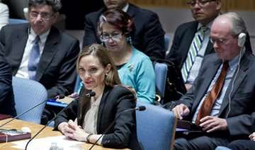 angelina jolie urges world to end rapes during...