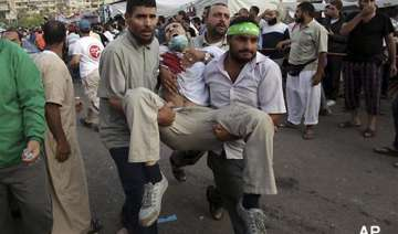 at least 75 killed in police firing on pro morsi...