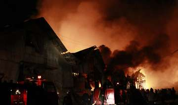 myanmar warehouse blast kills 17 - India TV