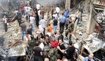 at least 50 syrian soldiers killed in suicide car...