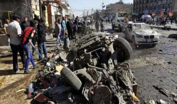 bomb attacks in baghdad killed 20 - India TV