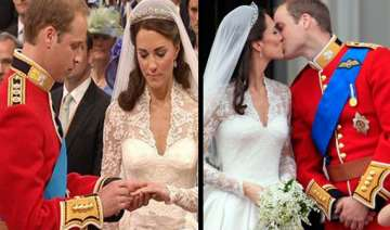 prince william marries commoner kate middleton in...