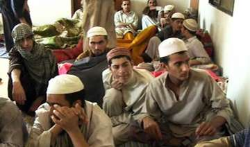 pak police rescue 45 students chained in madrassa...