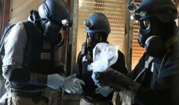 chemical experts begin destroying syria s...