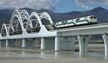 china positive about tibet lumbini rail link -...