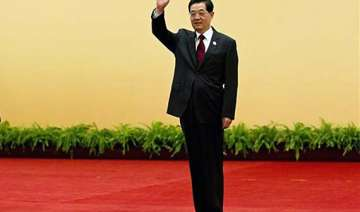 chinese president hu jintao steps down from power...