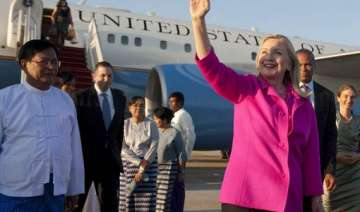 clinton tests reforms on historic visit to...
