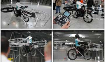 czechs present bicycle that can fly - India TV