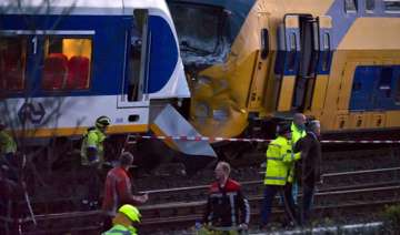 dutch trains collide dozens injured - India TV