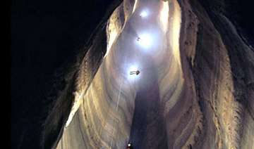 emirati adventurer to tour world s deepest cave -...