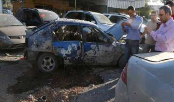 explosion hits hezbollah stronghold in lebanon -...