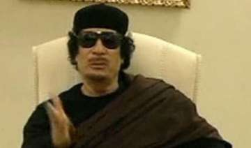 gaddafi taunts nato from his hiding place - India...