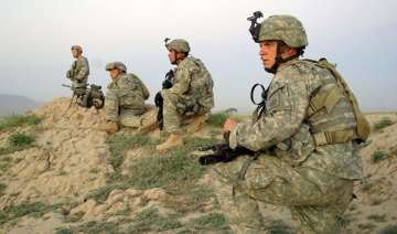 gunman in afghan uniform kills us soldier on base...
