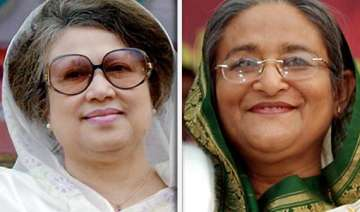 hasina accuses bnp of plotting against her...