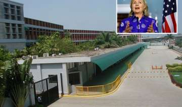 hillary clinton to visit ford factory in chennai...