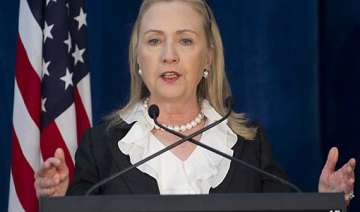 hillary clinton urges india to play larger role...