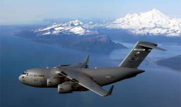 iaf takes possession of first boeing c 17...