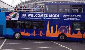 modi express bus launched in uk - India TV