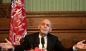 stop support to taliban afghan president ashraf...