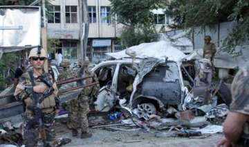 afghan car bombing kills at least 12 including 3...