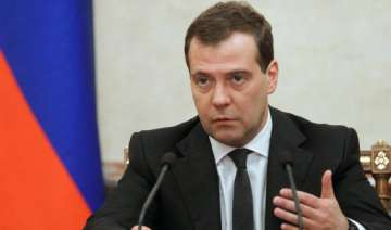 russia at risk of deep recession says medvedev -...