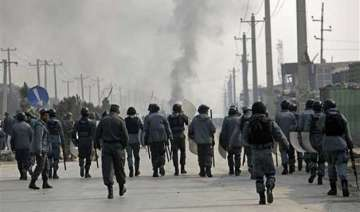 anti charlie hebdo protest in kabul turns violent...