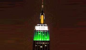 empire state building will shine in tricolour for...