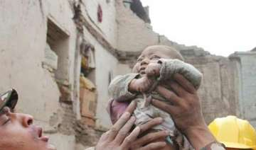 miraculous survival 4 month old rescued alive...